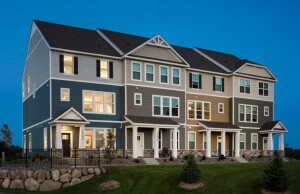 Pulte is building at Trey Point at Cobblestone Lake.
