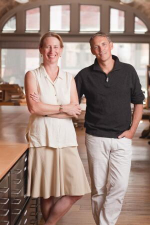Lisa Gray and Alan Organschi converted a downtown New Haven warehouse 