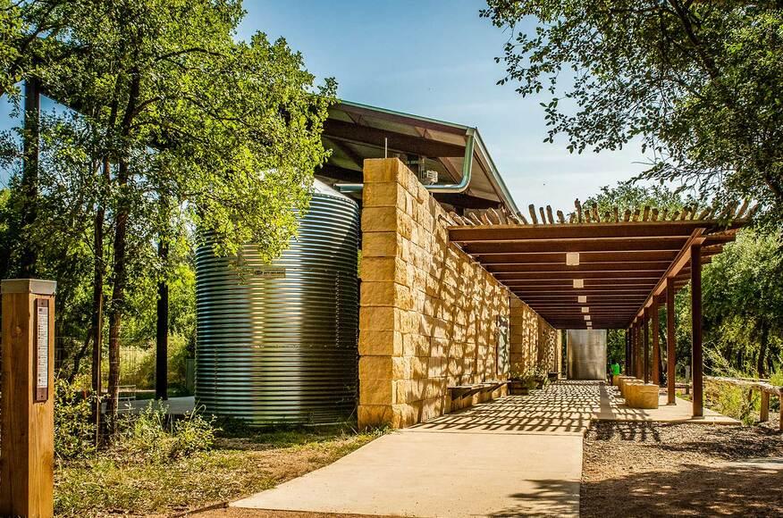 Modern Outdoor Classroom ~ Salado outdoor classroom pavilion architect magazine