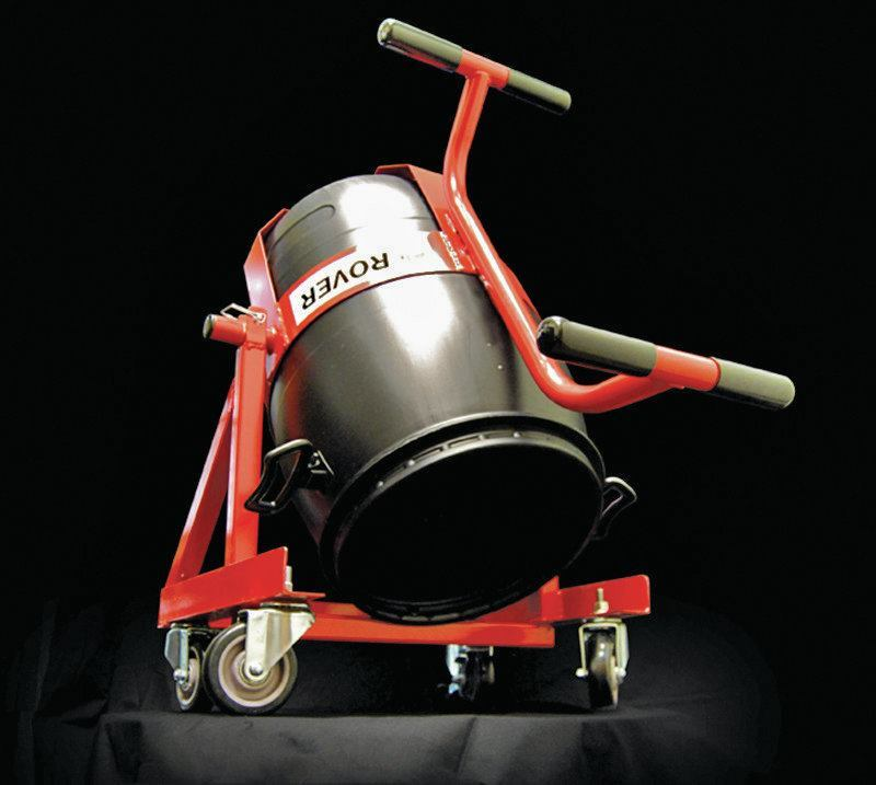 Ardex Rover Rolling Barrel Cart Concrete Construction