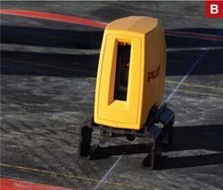B. Small laser level systems