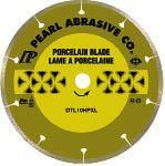 Pearl Abrasive DTL10HPXL Porcelain Blade