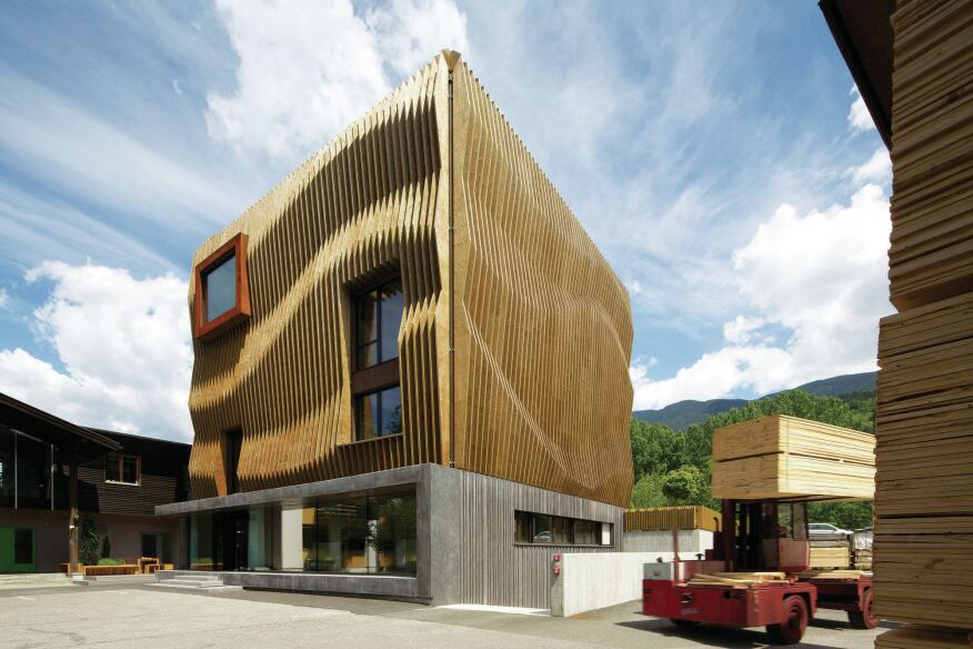 Innovative detail modus architects designs a headquarters for Innovative design company