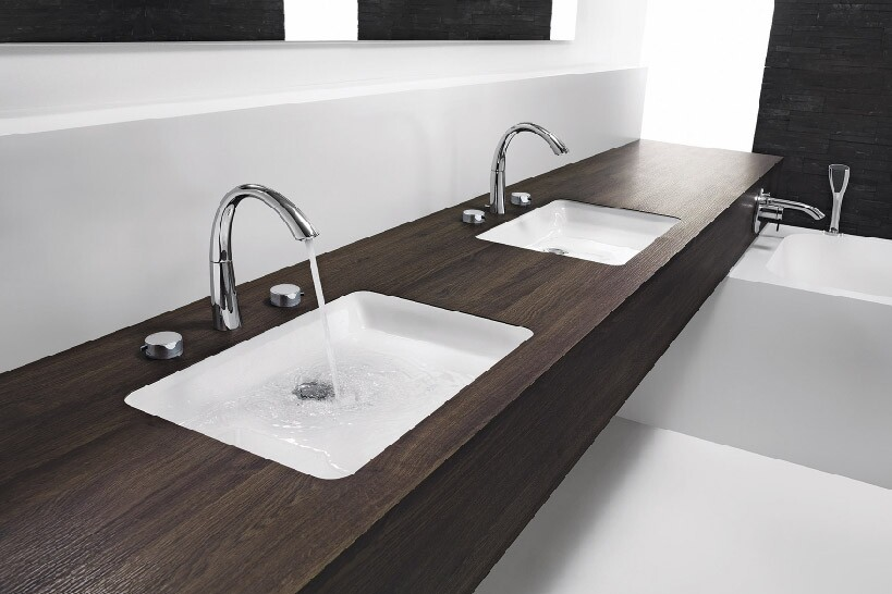 bath faucets, KWC faucets, Zoe bath faucet, kitchen and bath faucets, kitchen and bath faucet collections