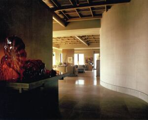 A view of the interior of the 1983 Seattle condo renovation for Jack and Rebecca Benaroya, a project that changed Suyama's career trajectory.