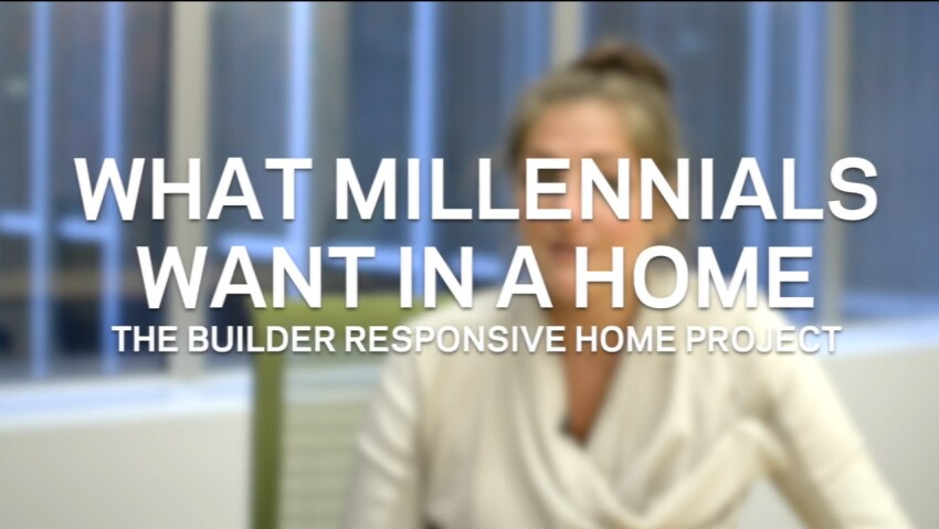 A Minefield of Millennial Myths: What They Say They Want in a Home