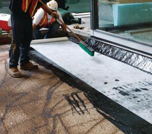 Carlisle Coatings & Waterproofing has improved its CCW-500 hot-applied waterproofing membrane. The new formulation uses postindustrial renewable resources to improve flexibility and crack-bridging ability. It also contains 30% pre-consumer recycled content, requires less heat for application, stays workable longer for wider installation time frames, and resists flow once it has set. CCW-500 is a single-component, rubberized asphalt compound that, when set after application, forms a durable, yet flexible monolithic waterproofing membrane. It can be adhered to virtually any surface, vertical or horizontal. carlisle-ccw.com