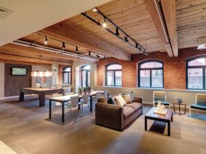 GreenFiber All Borate Stabilized Wall Spray Insulation, was used at Loft Five50 in Mass.