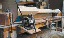 Turning Monster Posts on a Shop-Built Lathe