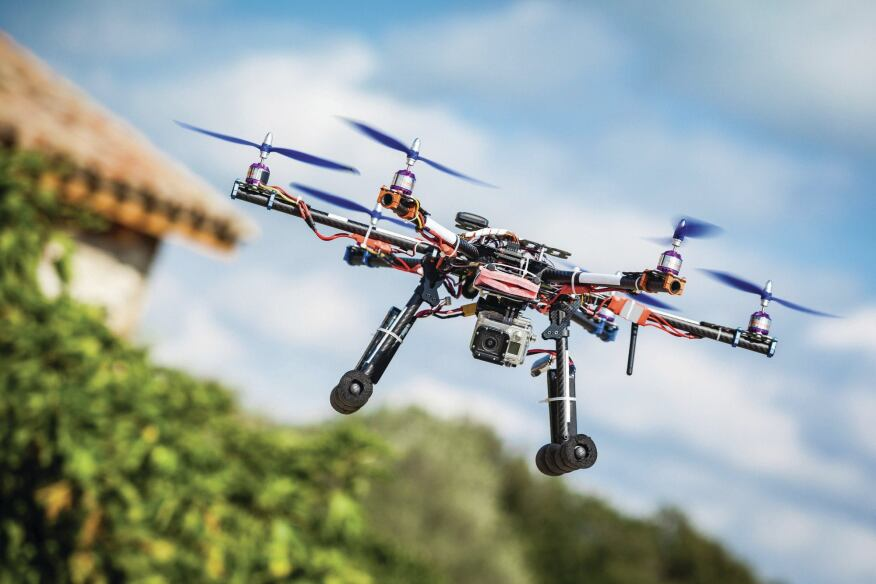Air Delivery  Many believe drones will be used to deliver building materials to jobsites.