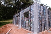 This Man is Building a Village Out of Plastic Bottles