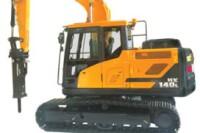 Hydraulic excavators from Hyundai