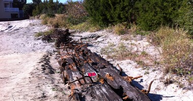 Beachfront Construction Unearths Long-Lost Ship
