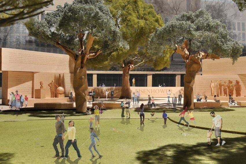 Eisenhower Memorial Commission Unveils Memorial Design Changes