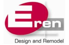 Eren Design and Remodel Logo