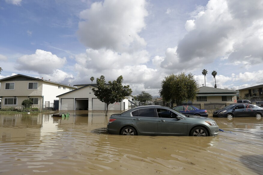 A series of storms led to flooding throughout San Jose, Calif., last week. The water level of Coyote Creek reached a 100-year-high, forcing residents from their homes and shutting down a major freeway.