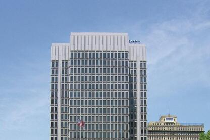 Philadelphia's Municipal Services Building