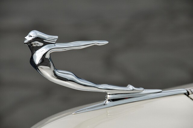 1940 Cadillac hood ornament