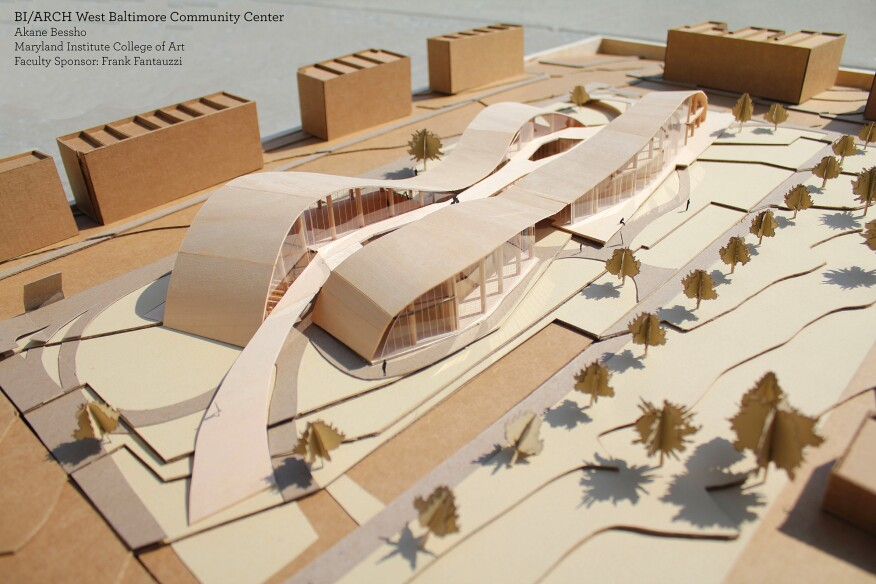 AIA Maryland Honors Student Projects in Annual Design