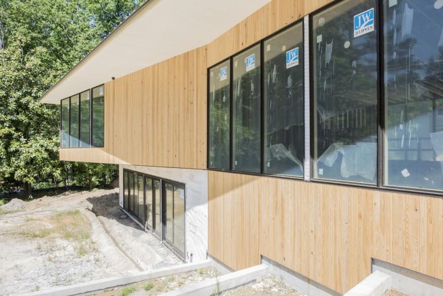 Tall order greg bain custom builder for Mulled window unit