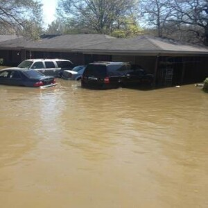March 25, 2016 - Starks, LA - Flooding surrounds homes and vehicles in the Calcasieu Parish community of Starks. The Governor's Office of Homeland Security & Emergency Preparedness and FEMA are coordinating to assist survivors there and throughout Louisiana.