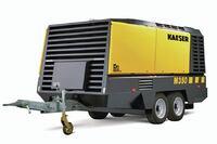 Kaeser Compressors Inc. + Mobilair M350 compressor
