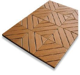 Figure 1. EcoShield tiles by A.E.R.T. may be installed over gravel or used to spruce up an existing deck.