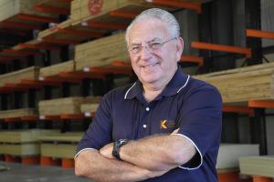 Al Bavry, CEO of Kimal Lumber, Nokomis, Fla.