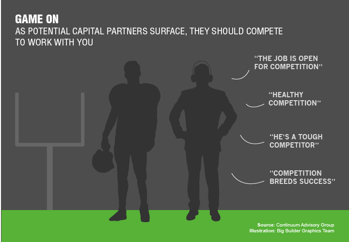 Turning the Tables: Get Capital Sources to Compete to Work With You