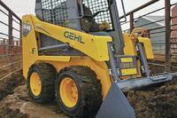 Gehl + 1640E skid loader
