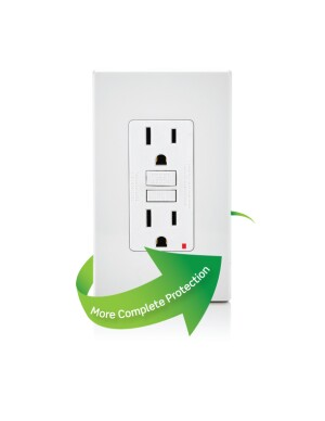 GFCI receptacles are required by UL to offer more complete protection.