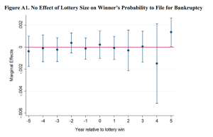 lottery winners and bankruptcy data
