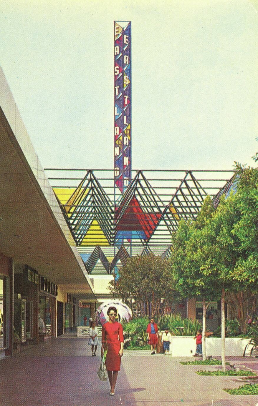 The Eastland Shopping Center c. 1957.