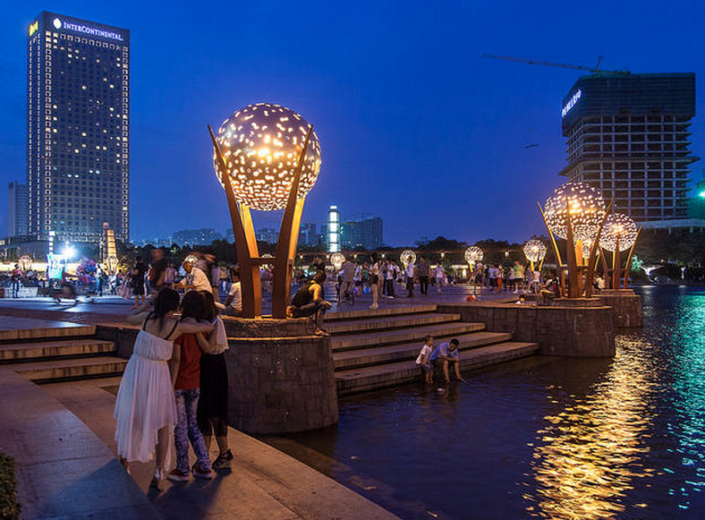 SWA Group Thousand Lantern Lake Park System in Foshan, Guangdong, China
