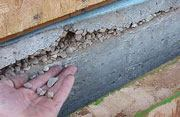 Poorly consolidated concrete results when installers forgo vibration.