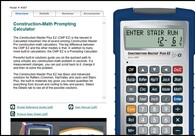 The Construction Master Plus EZ – powerful, easy-to-use prompting calculator