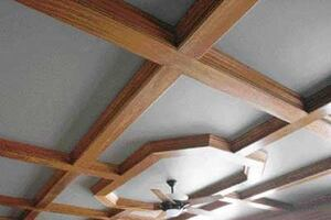 Building a Coffered Ceiling