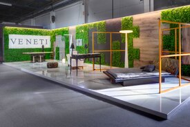 Veneti Pavillion design at 100%hotelshow2016