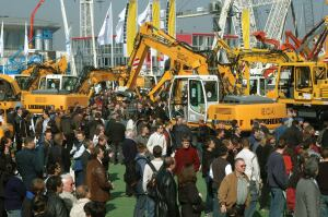 bauma 2007 will host 2801 exhibitors; an increase of 20% since the last show in 2004.