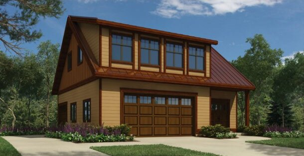 Home design building materials building products and for Garage apartment builders
