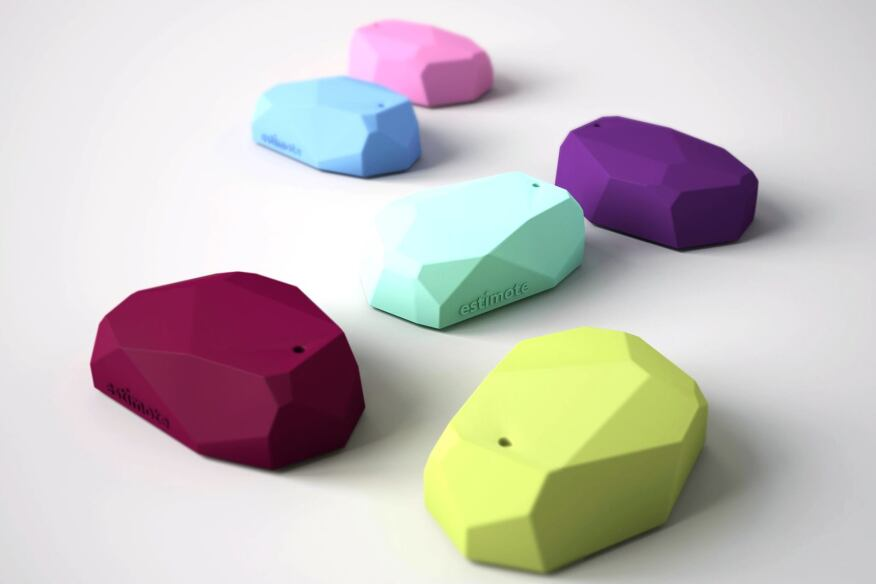 Beacon sensors by Estimote