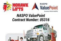Mohawk Awarded NASPO ValuePoint Contract for Lifts & Garage Associated Equipment