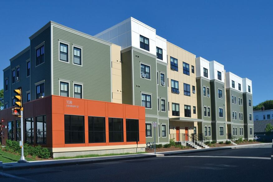 Casa di Anna | Lawrence, Mass. Casa di Anna delivers 18 affordable units in Lawrence, Mass. Developed by Lawrence CommunityWorks, the property's financing partners include Massachusetts Housing Investment Corp., the Massachusetts Department of Housing and Community Development, the Massachusetts Housing Partnership, MassHousing, MassDevelopment, TD Bank, TD Foundation, the city of Lawrence, NeighborWorks America, and the Office of the State Attorney General. It was designed by Davis Square Architects.