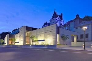 Mercer Museum Contemporary Concrete Addition