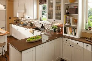 Granite counters may dominate home design television shows, but many clients want an eco-friendly surfacing alternative that offers the same strength as stone. Made from a combination of fine quartz and post-consumer recycled glass, Durcon's Elements is low in VOCs and can be recycled through Durcon's Dust-to-Dust program. It is currently available in central and north Texas regions only. elementsbydurcon.com