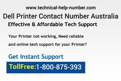 Dell Printer Customer Care Number 1-800-875-393 Australia