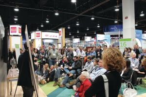 Houzz party: For the first time, Houzz will have a presence at the 2014 PSP Expo. The Houzz booth at the 2014 NAHB Intl. Builders' Show buzzed with activity, including in-booth seminars.
