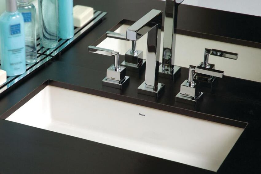 Deca Undermounted Vanity Rectangular Lavatory Sink