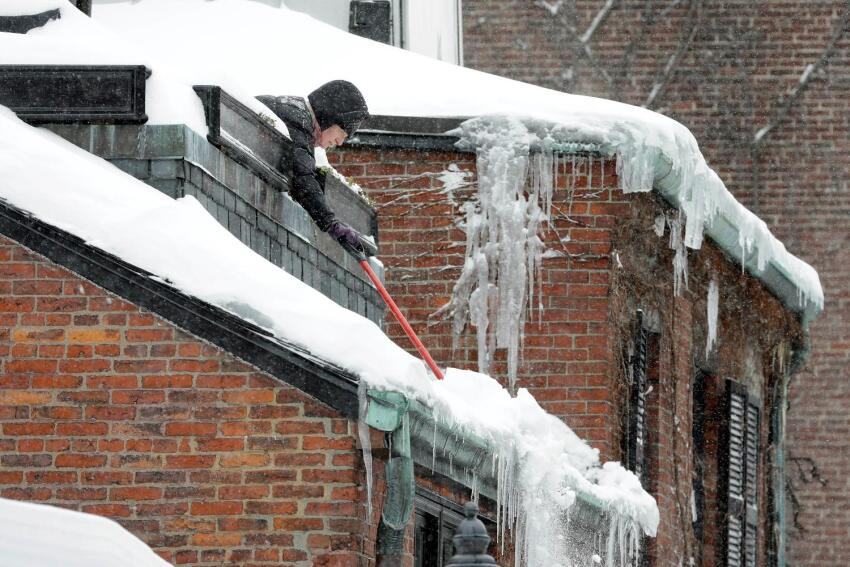 2015 Boston Blizzard Takes Its Toll on Region's Buildings