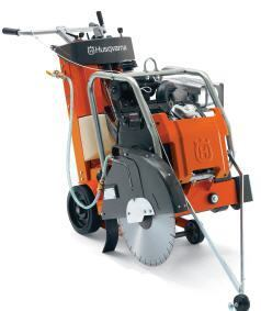 Husqvarna's FS 520 represents a floor saw that features a hydrostatic drive.
